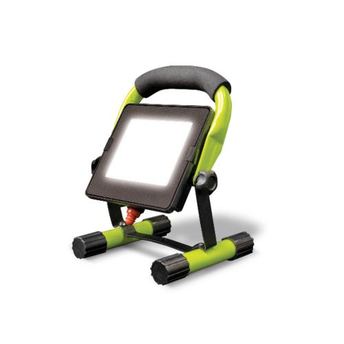 LUCECO ไฟ LED Worklight พกพา 10W EFLDW10B50-GH สีเขียว