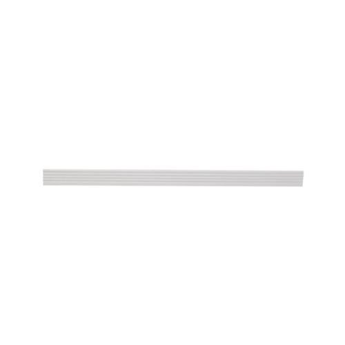 MAC  จมูกบันได PVC ขนาด 38/2.5m  SN-38-WH สีขาว