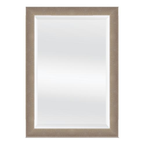 NICE กระจกเงามีกรอบ 40x60 cm.  สีเมทัล 3044-01T1