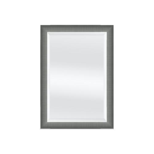 NICE กระจกเงามีกรอบ  40x60 cm. สีเมทัล 044-11144T