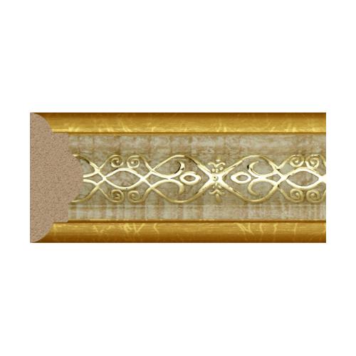 GREAT WOOD ไม้คิ้ว ขนาด  30x13x2700 mm (กxหนาxย)    1641-A-2067 สีทอง