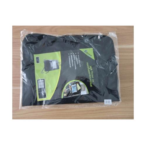 Cover กระเป๋าเก็บของหลังเบาะรถยนต์  COVER ขนาด 420x80x590มม.  CA-17 สีดำ