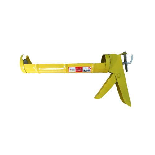HUMMER ปืนยิงกาวซิลิโคน DTSG715 สีเหลือง