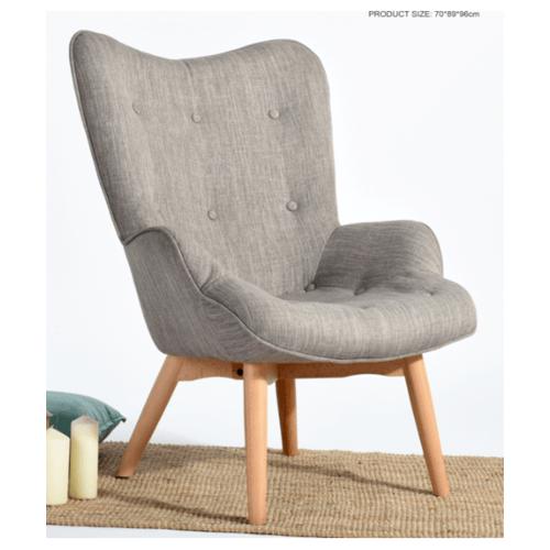 Pulito เก้าอี้พักผ่อน 70x89x96ซม.  PORTSIDE  สีเทา