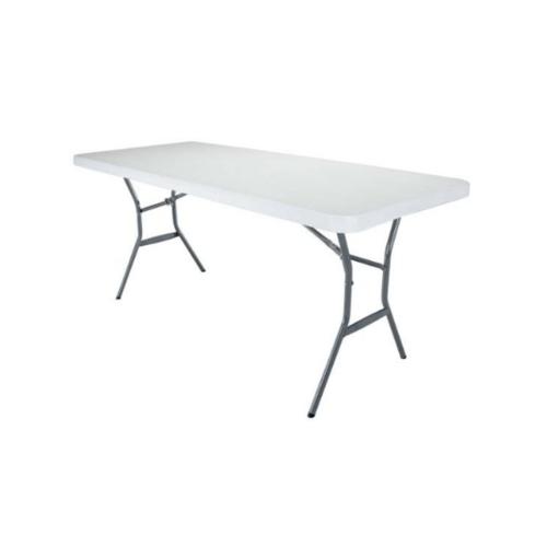 LIFETIME โต๊ะอเนกประสงค์   ขนาด 6ฟุต 2924 สีขาว