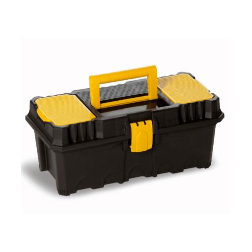 PORT-BAG กล่องเครื่องมือพลาสติก สีเหลือง-ดำ PB รุ่น AP-01 13นิ้ว - สีดำ