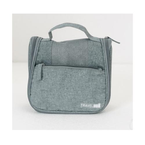 WETZLARS กระเป๋าจัดเก็บอุปกรณ์อาบน้ำ  ขนาด 23x19x10 cm   ZRH-017-GY สีเทา