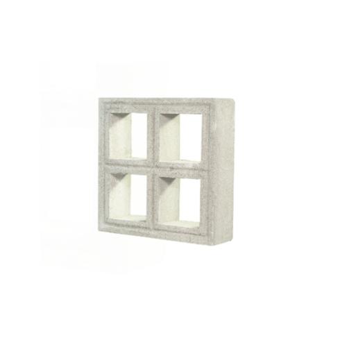 smart block บล็อคมวลเบา ตกแต่ง 30X30X9ซม. ช่องลม 4 ช่อง