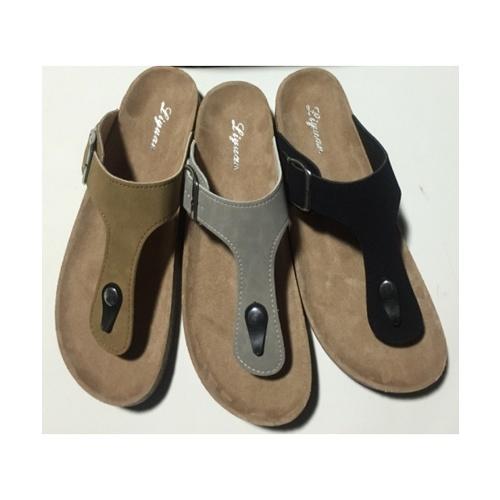 Primo รองเท้าแตะคีบแฟชั่น LY1513-40BR สีน้ำตาล