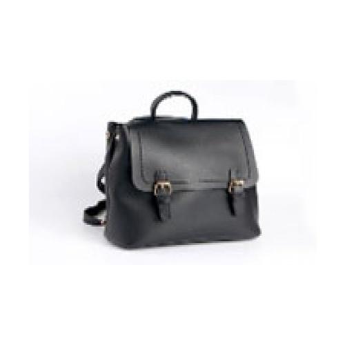 USUPSO กระเป๋าสะพายไหล่  สีดำ