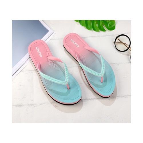 USUPSO  รองเท้าแตะผู้หญิง  Gradient - Powder - 37