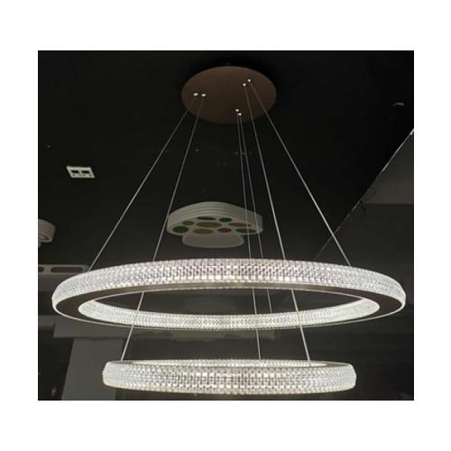 EILON โคมไฟแขวนโมเดิร์น 115 W KDD7018 คูลไวท์  สีขาว