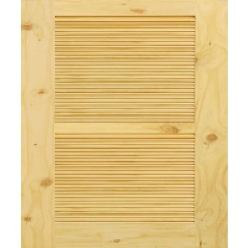 D2D ประตูไม้สนนิวซีแลนด์ ขนาด 75x170cm.   Eco Pine-020