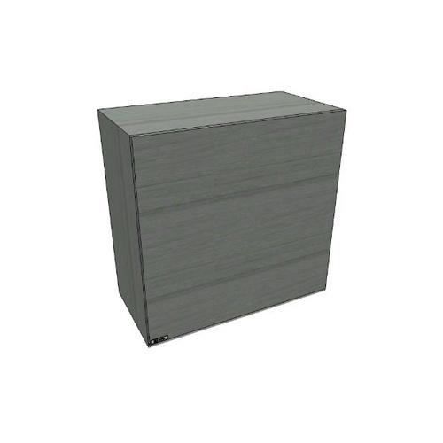 MJ ตู้แขวนเดี่ยวทึบตรง  สีเทาลายไม้ SAV-W605-GW สีเทา