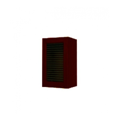 MJ ตู้แขวนเดี่ยวกระจกตรง W604G-MK สีมะค่า MJ  มะค่า