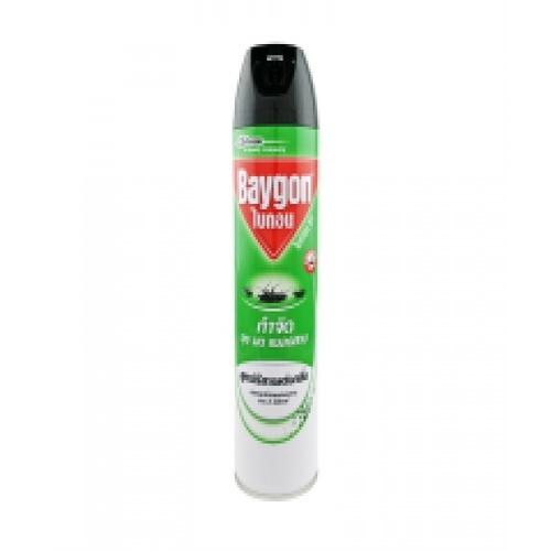 ไบกอนเขียวสเปรย์ กลิ่นยูคาลิปตัส 600 มล.  เขียว
