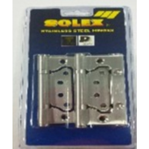 SOLEX บานพับสแตนเลส NO.4275SB(3PCS)แผง