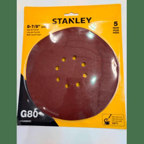 STANLEY  กระดาษทราย STA0080WS 80 Grit