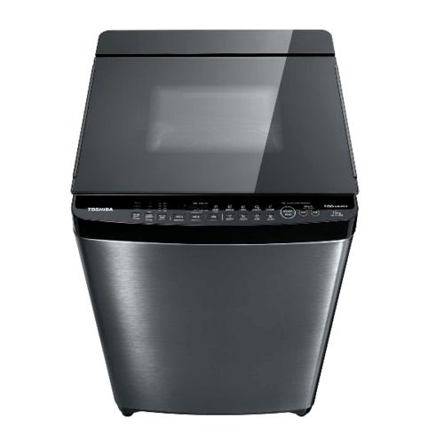 TOSHIBA เครื่องซักผ้าอัตโนมัติ ขนาด 15กก. AW-DG1600WT(SK)