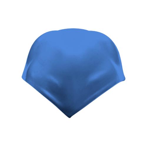 ตราเพชร ครอบสันโค้ง 4 ทาง ปั้นหยา กระเบื้องลอนคู่ ขนาด 37.5x37.5 ซม. สีฟ้ารุ่งโรจน์