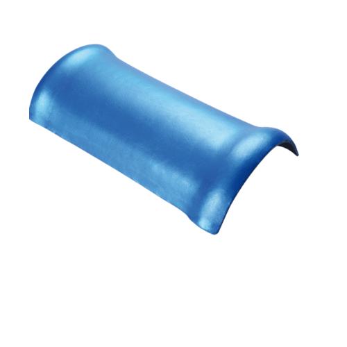 ตราเพชร ครอบสันโค้ง แบบตรง กระเบื้องจตุลอน ขนาด 24x51.5 ซม สีน้ำตาลประกายเพชร