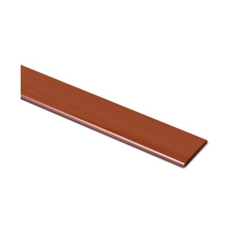 ตราเพชร ไม้ระแนง แบบเรียบลบมุม รุ่น หน้า 3 นิ้ว ยาว 3 ม. ขนาด 0.8x7.5x300 ซม. สีน้ำตาลเบอร์รี่