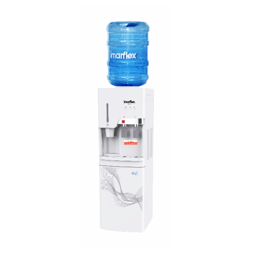 IMARFLEX ตู้กดน้ำร้อนน้ำเย็น แบบถังคว่ำ IF-101 สีขาว