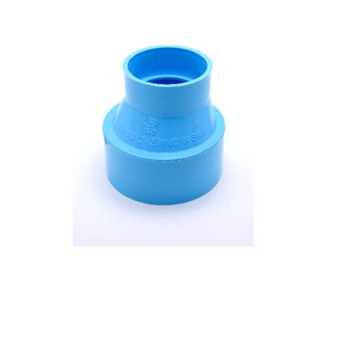 AAA ข้อต่อตรงลด แบบบาง  1 1/2นิ้ว X 1 1/4นิ้ว (40X35) ชั้น 8.5  สีฟ้า