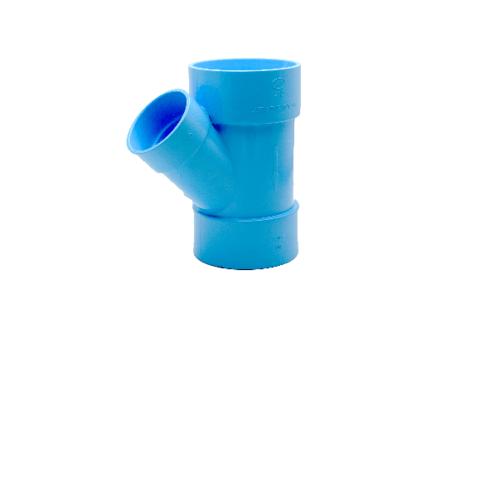 AAA สามทางวายลด  แบบบาง 4นิ้ว  X 2นิ้ว (100X55) ชั้น 8.5  สีฟ้า