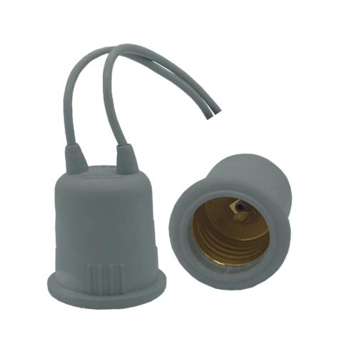 NATO ขั้วไฟยางกันน้ำ E27 NT-KF204 สีเทา