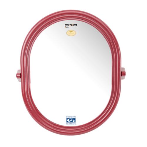 PIXO กระจกเงาแบบวงรี M.04  สีแดง