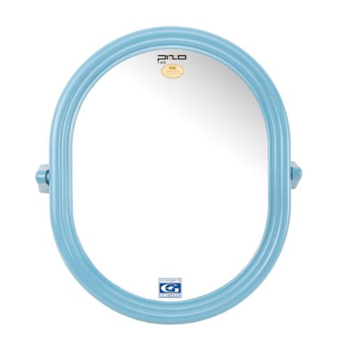 PIXO กระจกเงาแบบวงรี M.04 สีฟ้า