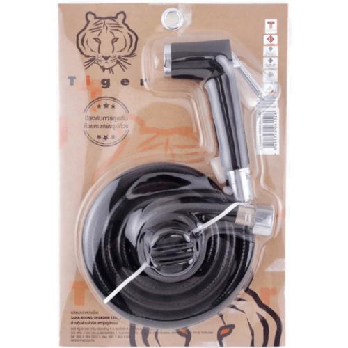 TIGER ชุดหัวฉีดชำระ  EPR 06 สีดำ