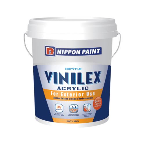 นิปปอนเพนต์ สีน้ำอะคริลิก วินิเลกซ์ กึ่งเงา  T007  17.5 ลิตร