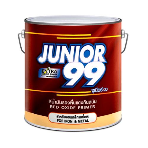 NIPPON สีน้ำมัน จูเนียร์ RED OXIDE สีแดง