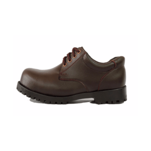ATAPSAFE รองเท้าเซฟตี้ ผูกเชือก สีน้ำตาล Size.43 Brown Safety Shoes S.43 น้ำตาล
