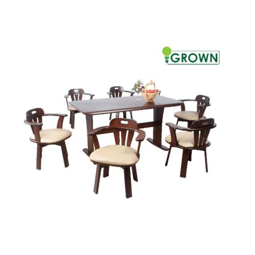 Grown ชุดโต๊ะอาหาร 6 ที่นั่ง ยามาฮ่า