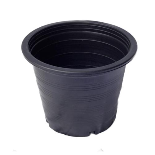 GREENHOUSE กระถางพลาสติกดำ-ปากตรง 11 นิ้ว -