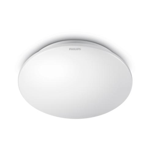 PHILIPS โคมเพดาน LED 6W. 33361 Moire 27K สีขาว