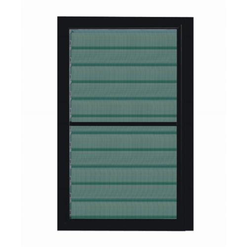A-Plus  หน้าต่างอลูมิเนียมบานเกล็ด 60x110ซม. พร้อมมุ้ง SAHARA