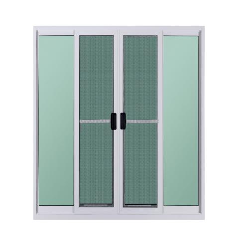 A-Plus ประตูบานเลื่อนเปิดกลาง  2.40 m. x 2.05 m. AP-017 PLATINUM