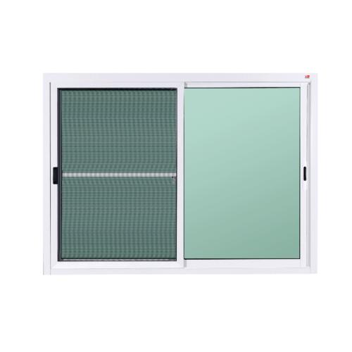 A-Plus หน้าต่างบานเลื่อนสลับ ขนาด 1.50x1.10m. A-WS/002 ขาว