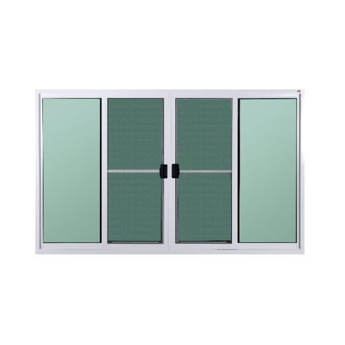 A-Plus หน้าต่างบานเลื่อนเปิดกลาง พร้อมมุ้ง ขนาด 180x110 cm. A-P/1002