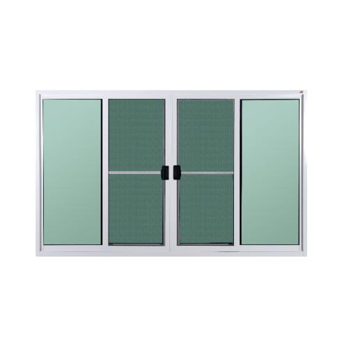A-Plus หน้าต่างบานเลื่อนเปิดกลาง 2.40x1.10 มีมุ้ง A-P/1003