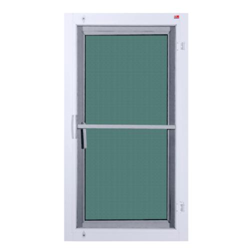 A PLUS หน้าต่างบานเปิด (มุ้ง)  ขนาด0.60 m. x 1.50 m. สีขาว