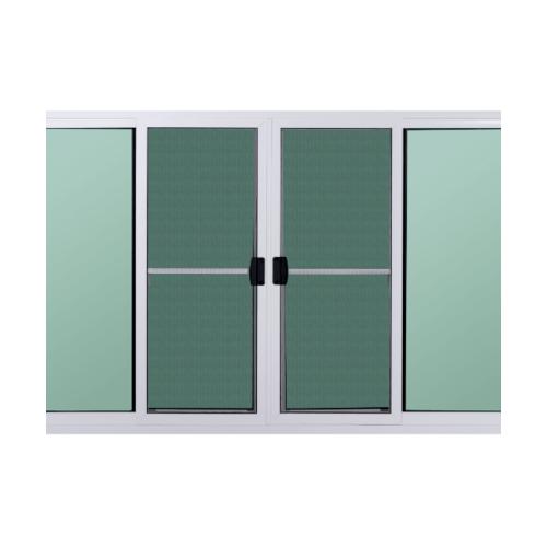 A PLUS หน้าต่างบานเลื่อนเปิดกลาง(มุ้ง)  ขนาด 2.40x1.50