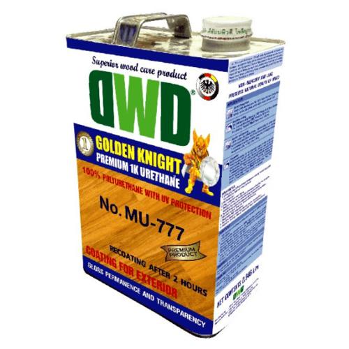 DWD สีเคลือบพื้นไม้  (3.785ลิตร) MU-777