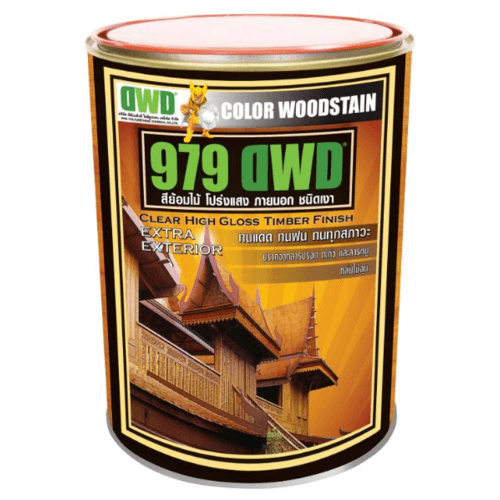 DWD สีย้อมไม้ ชนิดเงา  (3.785ลิตร) 979DWD 110EX สีไม้ประดู่