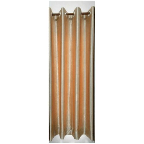 Davinci ผ้าม่านหน้าต่าง ขนาด (150 x 160 ซม.) D1701-2 สีครีมทอง