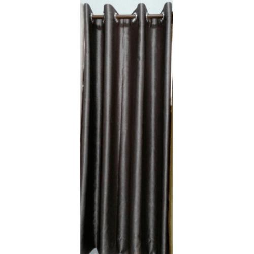 Davinci ผ้าม่านหน้าต่าง ขนาด 150 x 160ซม.   6071-2 สีดำเทา